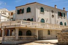 La casa de Montalbano Imagen de archivo
