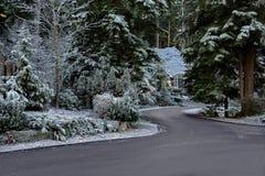 La casa de la Navidad Fotografía de archivo libre de regalías