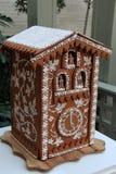 La casa de pan de jengibre hermosa entró en la competencia, George Eastman House, Rochester, Nueva York, 2017 Foto de archivo libre de regalías
