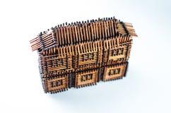 La casa de partidos Imagen de archivo libre de regalías