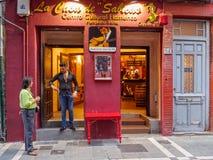 La Casa de Sabicas - Pamplona Fotografía de archivo libre de regalías