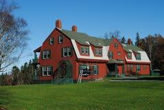 La casa de verano de Franklin Roosevelt, NOTA Canadá imagen de archivo
