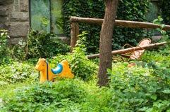 La casa dei panda Fotografia Stock Libera da Diritti