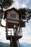 La casa del Arbol in Banos, Ecuador Stock Photo