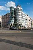 La casa del baile el 9 de mayo en Praga, comprueba con referencia a Foto de archivo libre de regalías