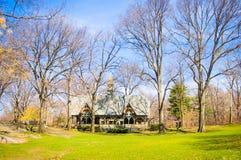 La casa del Central Park Imagenes de archivo