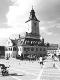 La casa del consejo de Brasov fotografía de archivo