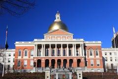 La casa del estado de Massachusetts Fotografía de archivo libre de regalías
