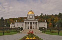 La casa del estado de Vermont en Montpelier, Vermont, los E.E.U.U. fotografía de archivo