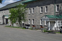 La casa del general del gobernador, La Citadelle, Quebec Imagen de archivo