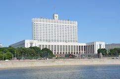 La casa del gobierno de la Federación Rusa (la Casa Blanca) Fotos de archivo