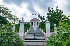 La casa del gobierno en Nassau, Bahamas foto de archivo libre de regalías