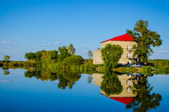 La casa del lago Imagenes de archivo