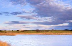 La casa del lago fotografia stock libera da diritti