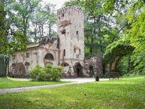 La casa del margravio in Arcadia vicino a Lowicz, Polonia immagine stock libera da diritti