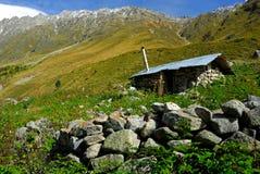 La casa del pastore anziano Immagine Stock Libera da Diritti