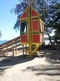 La casa del reloj de la bahía Imagen de archivo