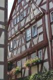 La casa del zarzo, malo wimpfen Fotografía de archivo libre de regalías