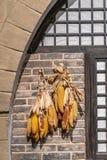 La casa dell'agricoltore è appesa con fotografia stock libera da diritti