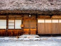 La casa di Gassho a Shirakawa-va villaggio, Giappone 8 Fotografie Stock