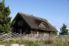 La casa di legno Immagine Stock Libera da Diritti