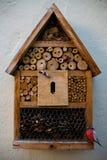 La casa di legno Immagine Stock