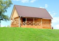 La casa di legno fotografia stock libera da diritti