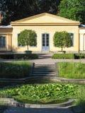La casa di Linne a Upsala Fotografie Stock
