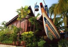 La casa en la Tailandia meridional Imágenes de archivo libres de regalías