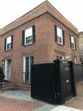 La casa Georgetown del exorcista fotos de archivo libres de regalías