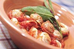 La casa ha fatto la cucina italiana Fotografia Stock Libera da Diritti