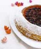 La casa ha fatto la torta di frutta Immagine Stock