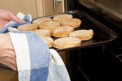 La casa ha prodotto i biscotti Immagine Stock Libera da Diritti