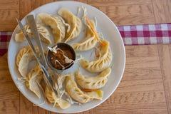 La casa ha prodotto l'alimento indiano Immagini Stock Libere da Diritti