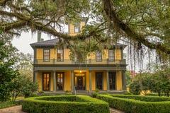 La casa histórica de Brokaw-McDougall en Tallahassee, la Florida Imagen de archivo