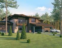 La casa ideal Foto de archivo