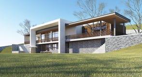 La casa ideal Imagen de archivo