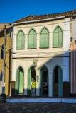La casa iluminada por el sol, ³ de Lençà es, Bahía, el Brasil foto de archivo libre de regalías