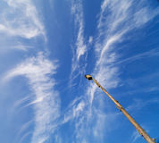 La casa nei cieli Fotografie Stock Libere da Diritti