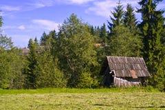La casa nella foresta Immagine Stock Libera da Diritti