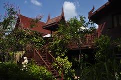 La casa nello stile tailandese Immagini Stock