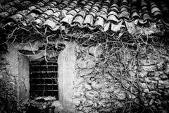 La casa olvidada Imagenes de archivo