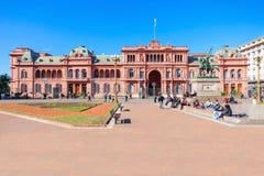 La Casa Rosada, Buenos Aires royalty free stock images