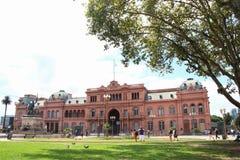 La Casa Rosada Buenos aires Argentinië royalty-vrije stock foto's
