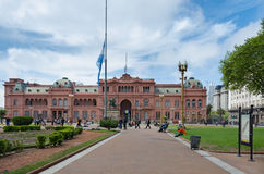 La Casa Rosada Stock Photography