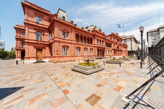 La Casa Rosada Royalty Free Stock Photo