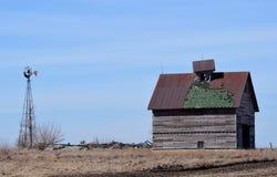 La casa se derrumbó Fotos de archivo libres de regalías