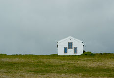 La casa sola Immagini Stock