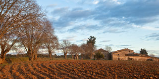 La casa storica dei farmer´s della latta Plantada Immagini Stock Libere da Diritti