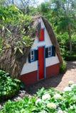 La casa típica en Madeira Fotos de archivo